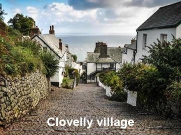 North Devon Holiday Cottage Clovelly coastal village