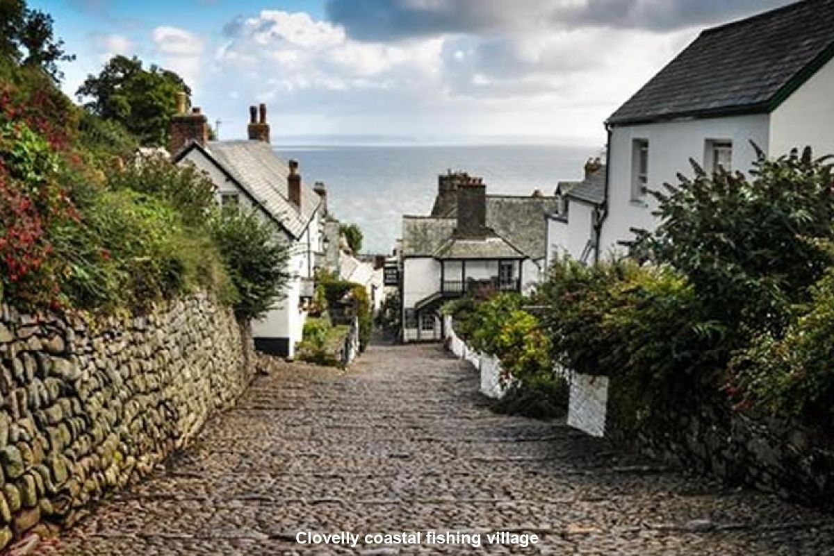 North Devon Holiday Cottage Clovelly coastal fishing village